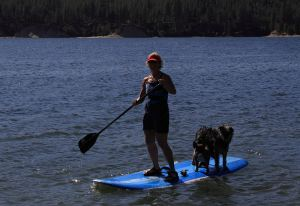 Stand Up Paddle with Friends