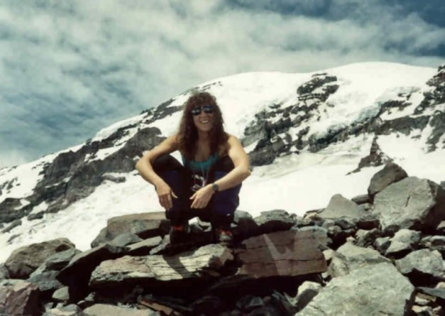 In my twenties... on Mt. Rainier